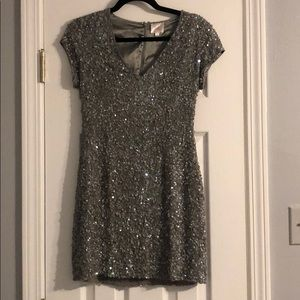 Perfect Parker sequins dress